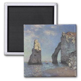Peinture de Monet Magnet Carré