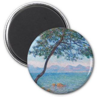 Peinture de Monet Magnet Rond 8 Cm