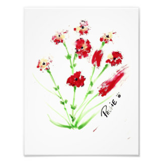Peinture de Pawprint Impressions Photographiques