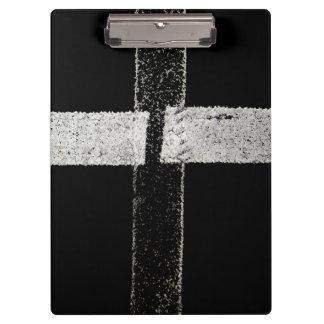 Peinture de route - croix