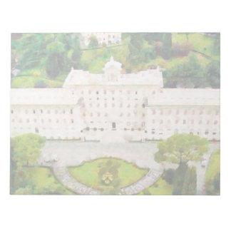 Peinture de Vatican Bloc-note