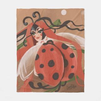 Peinture d'imaginaire de coccinelle - coccinelle