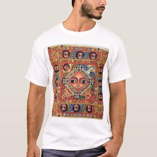 Peinture éthiopienne d'église - T-shirt de blanc