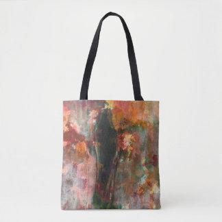 Peinture figurative gothique, art abstrait de tote bag