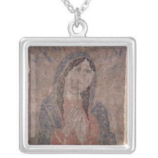 Peinture indienne de peau de pueblo de Madonna, Collier