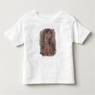 Peinture indienne de peau de pueblo de Madonna, T-shirt Pour Les Tous Petits