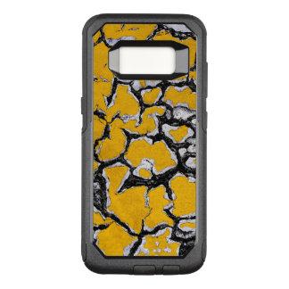 Peinture jaune criquée de route coque samsung galaxy s8 par OtterBox commuter