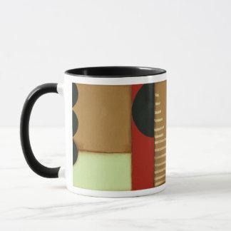 Peinture lambrissée par style contemporain de mug
