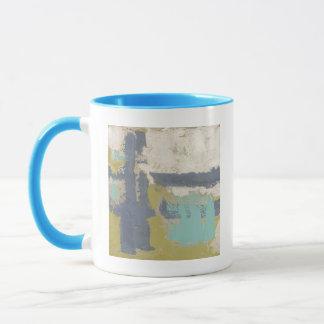 Peinture libre moderne d'expression mug