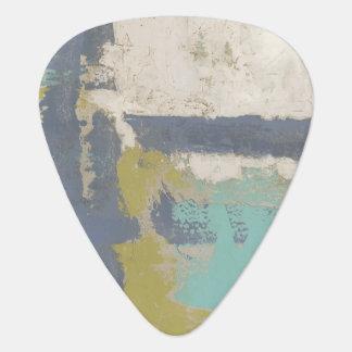 Peinture libre moderne d'expression onglet de guitare