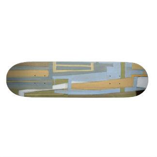Peinture libre moderne d'expression par le Normand Skateboards Personnalisables