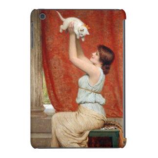 Peinture mignonne de chaton coque iPad mini