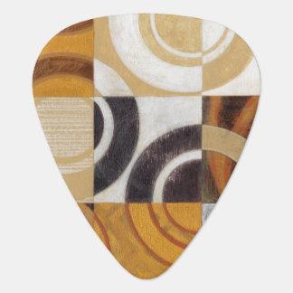 Peinture moderne avec les motifs circulaires onglet de guitare