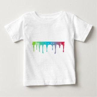 Peinture multicolore t-shirt pour bébé