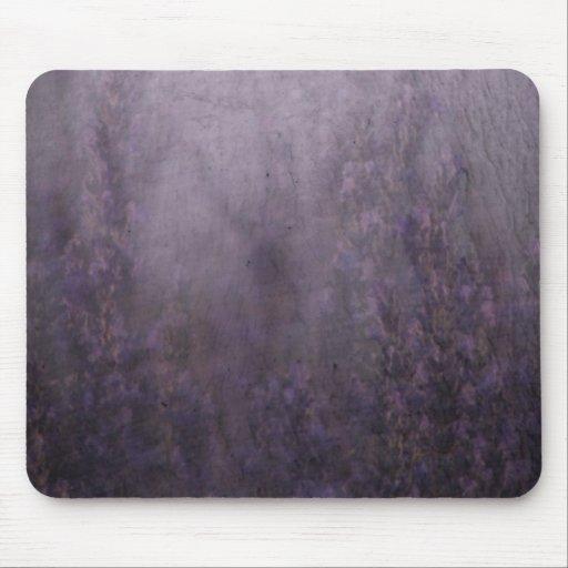 Peinture Murale De Brouillard De Lavande Tapis De Souris Zazzle