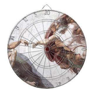 Peinture originale de Michaël Angelo dans la Jeux De Fléchettes