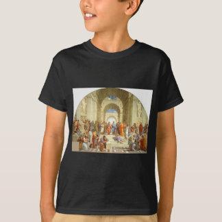 """Peinture originale """"l'école d'Athènes"""" par T-shirt"""