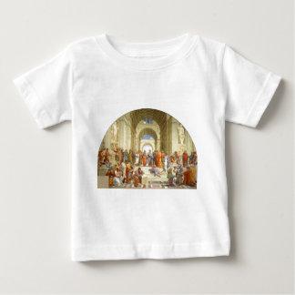 """Peinture originale """"l'école d'Athènes"""" par T-shirt Pour Bébé"""