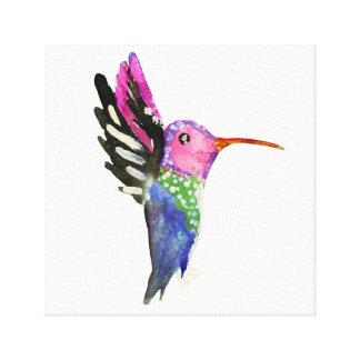 Peinture puérile d'aquarelle de colibri toiles