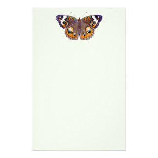 Peinture réaliste de papillon commun de maronnier papeterie