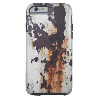Peinture rouillée d'épluchage coque iPhone 6 tough