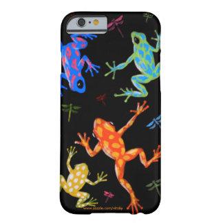 Peinture toxique de grenouilles coque barely there iPhone 6
