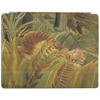 Peinture tropicale d'impression d'art de tigre de protection iPad