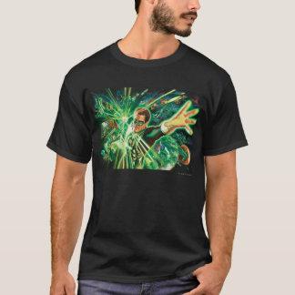 Peinture verte de lanterne t-shirt