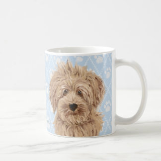 Peintures de chien de Labradoodle/amour de Mug