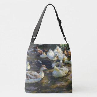 Pekin penche le sac fourre-tout à étang d'animaux
