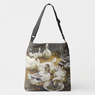 Pekin penche le sac fourre-tout à grange d'animaux