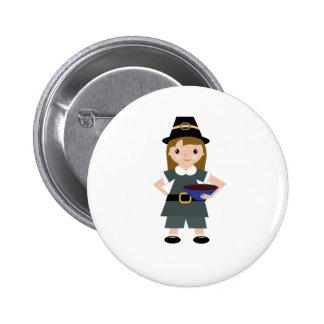 Pèlerin de thanksgiving badges