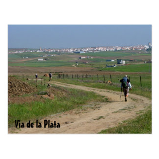 Pèlerins sur la carte postale de VdlP