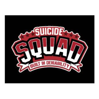 Peloton de suicide   construit dans le Deniability Carte Postale
