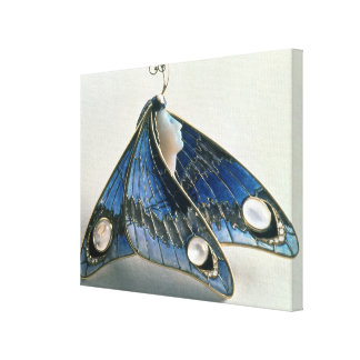 Pendentif de Nouveau d'art sous la forme un papill Toiles