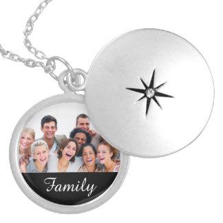 Pendentif fait sur commande de photo de famille