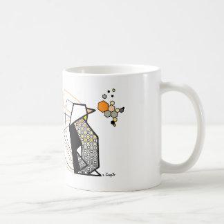 Penguin origami mug