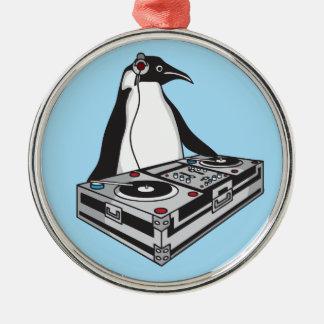 penguinX3 [1] Ornement Rond Argenté