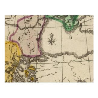 Péninsule balkanique 3 carte postale