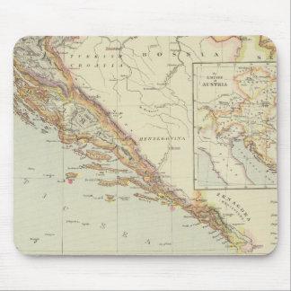 Péninsule balkanique, Croatie, Slovénie Tapis De Souris