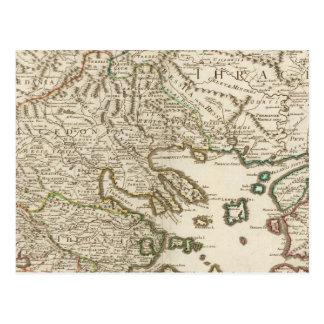 Péninsule balkanique, Grèce, Macédoine 2 Carte Postale