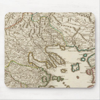 Péninsule balkanique, Grèce, Macédoine 2 Tapis De Souris