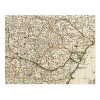 Péninsule balkanique, Hongrie, Roumanie Carte Postale
