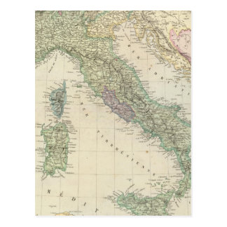 Péninsule balkanique, Italie, Slovénie Carte Postale