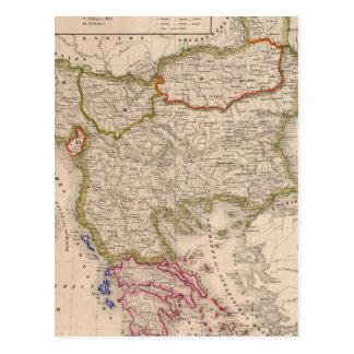 Péninsule balkanique, Turquie, Grèce Carte Postale