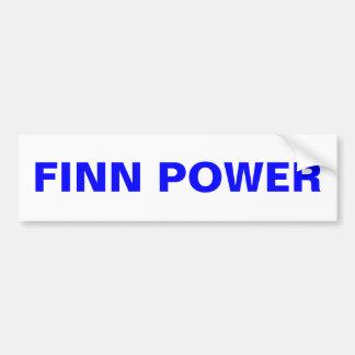 Péninsule supérieure Finlande d'adhésif pour pare- Autocollant Pour Voiture