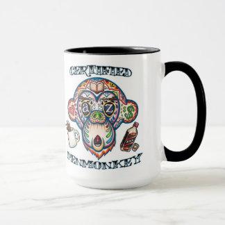 PENMONKEY CERTIFIÉ -- Tasse de café