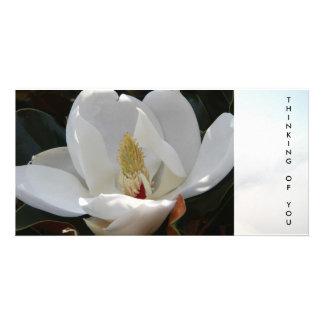 """""""Pensant à vous"""" carte postale Cartes De Vœux Avec Photo"""