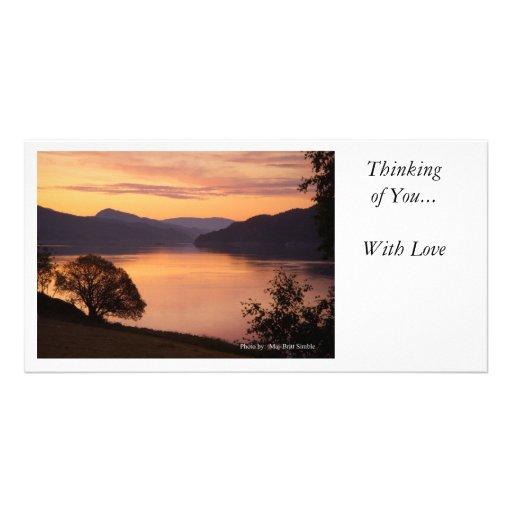 Pensée à vous… photocartes personnalisées