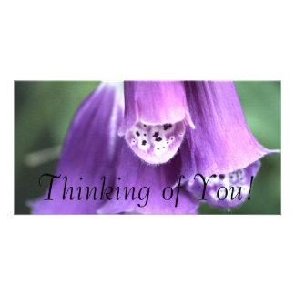 Pensée à vous ! photocarte